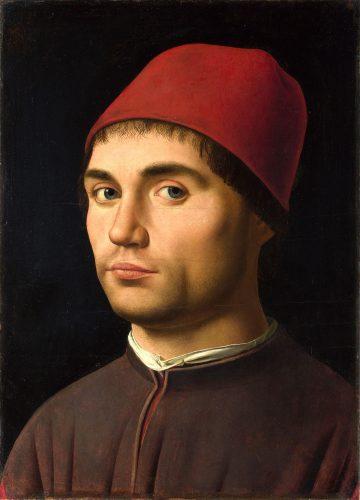 Antonello da Messina - Portrait of a Man - National Gallery London